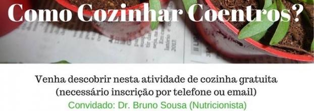 Sessão sobre Alimentação Saudável: Como Cozinhar com Coentros?