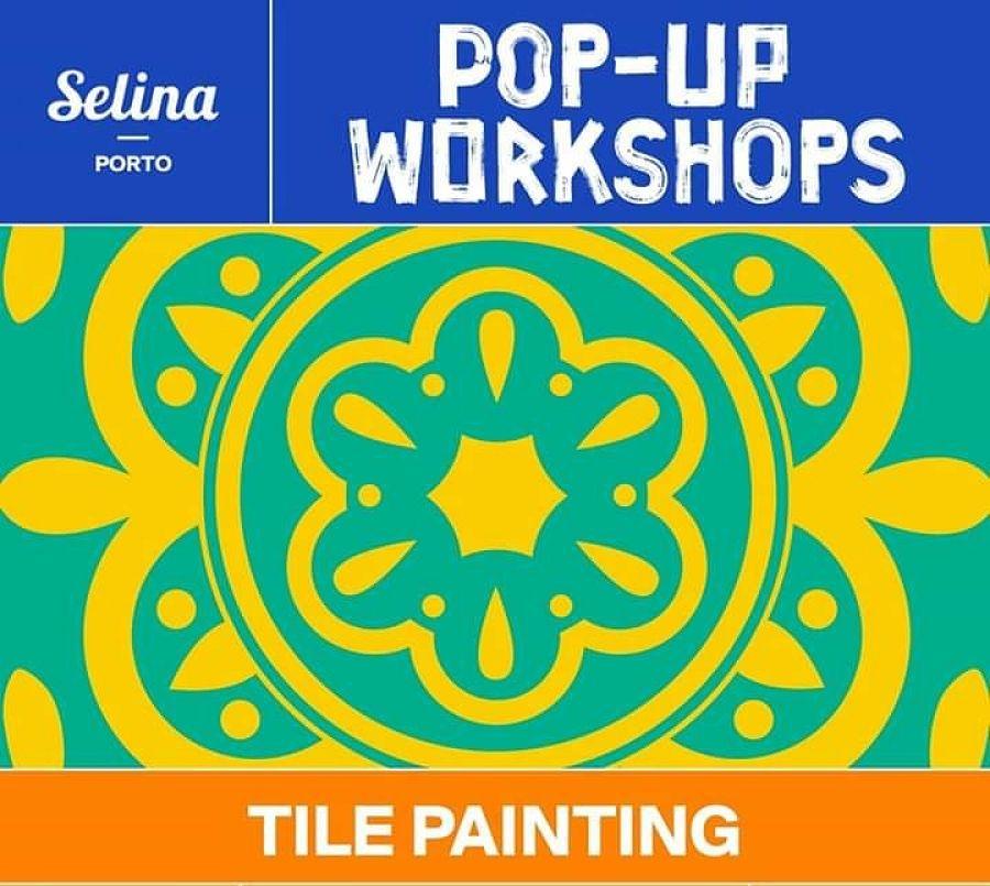 Workshop pintura de azulejo