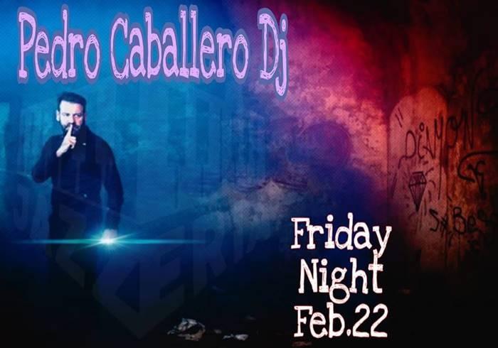 Pedro Caballero DJ en La Jazzería