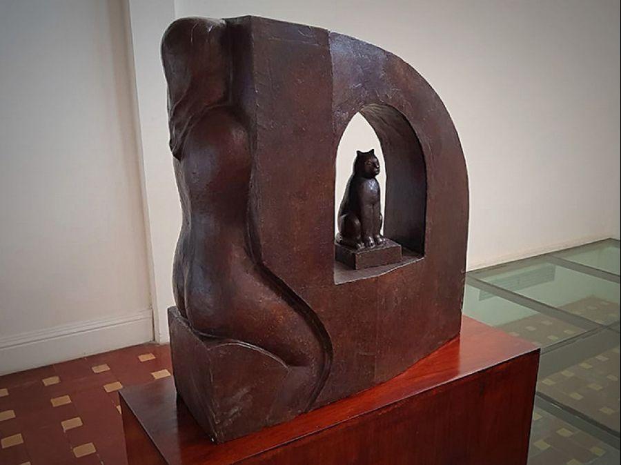 Fuego Creativo. Crisanto Badilla. Escultura
