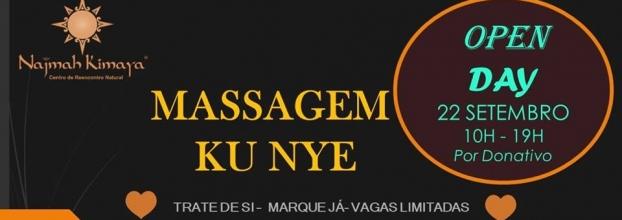 Open Day Massagem Ku Nye por Donativo Consciente