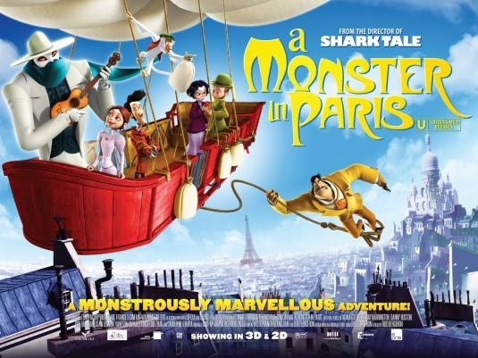 Ciclo de cine familiar. A monster in Paris