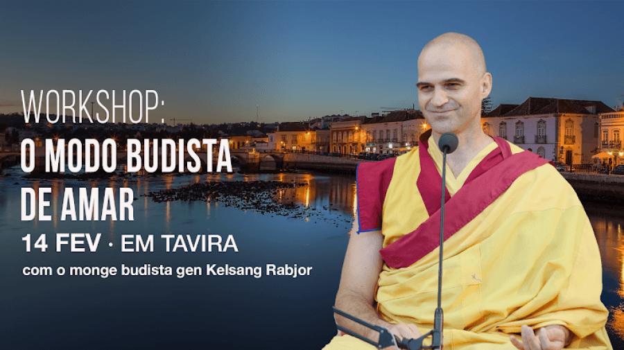 Workshop com o monge budista Gen Rabjor
