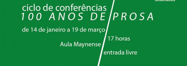 Ciclo de conferências «100 anos de prosa»