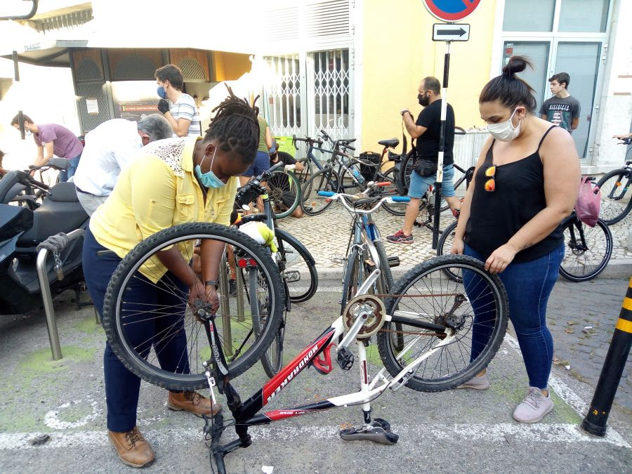 Cicloficina de Almada - Outubro'20