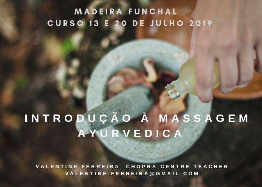 Introdução à massagem Ayurvedica (2 dias)