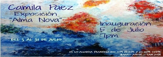 Inauguración. Alma Nova, de Camila Páez