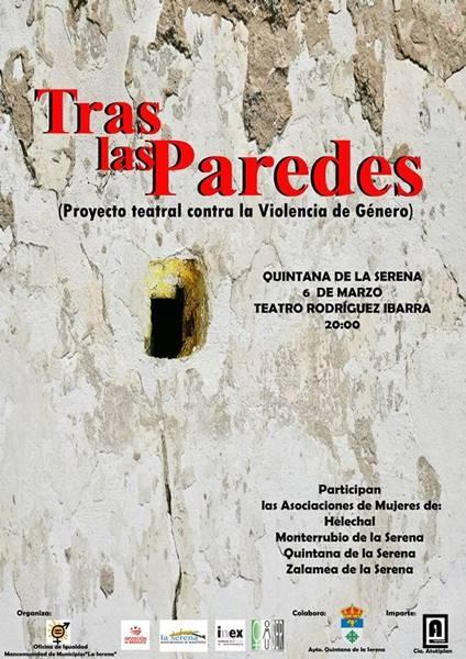 Teatro: 'Tras las paredes' // Cine Teatro Rodríguez Ibarra
