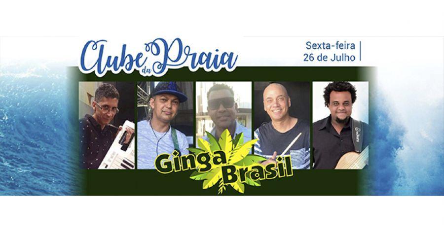 Ginga Brasil no Clube da Praia