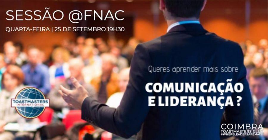 Sessão Fora de Portas @Fnac - Workshop Comunicação e Liderança