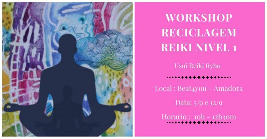 Workshop de Reciclagem de Reiki