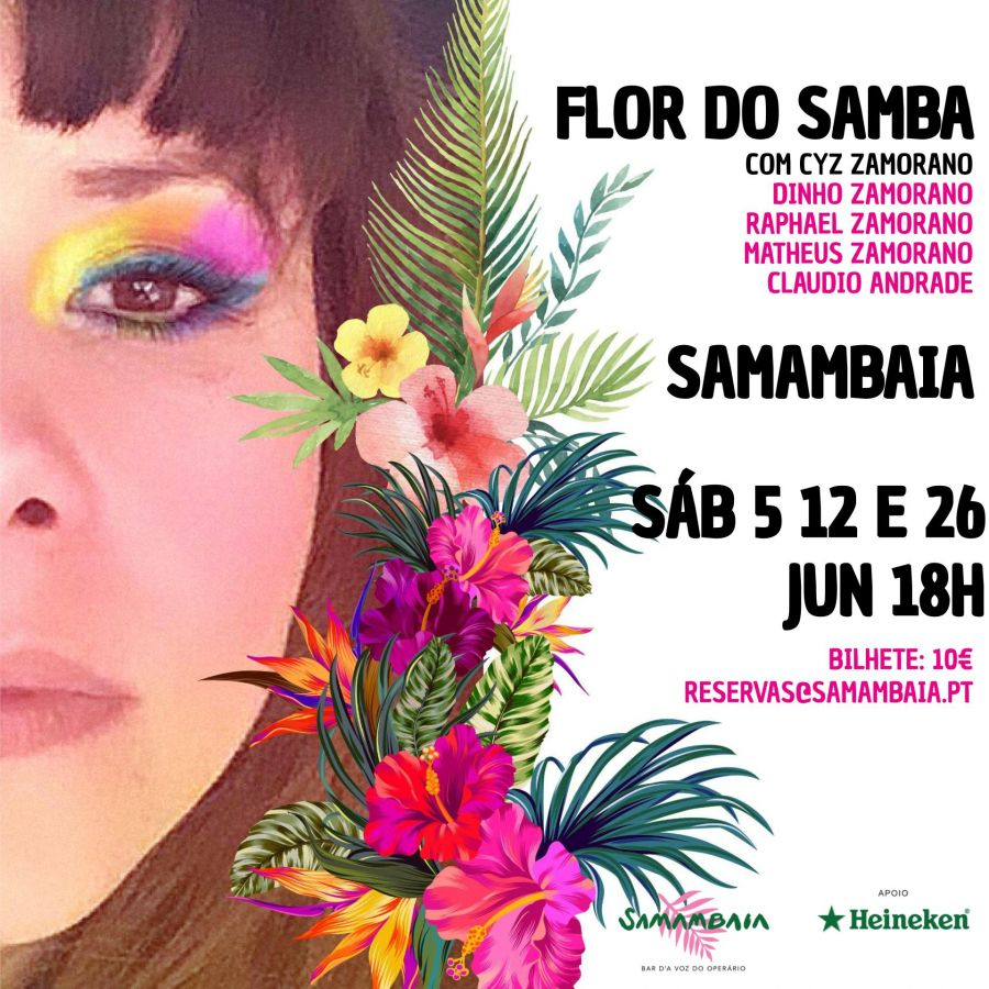 FLOR DE SAMBA - CYZ ZAMORANO