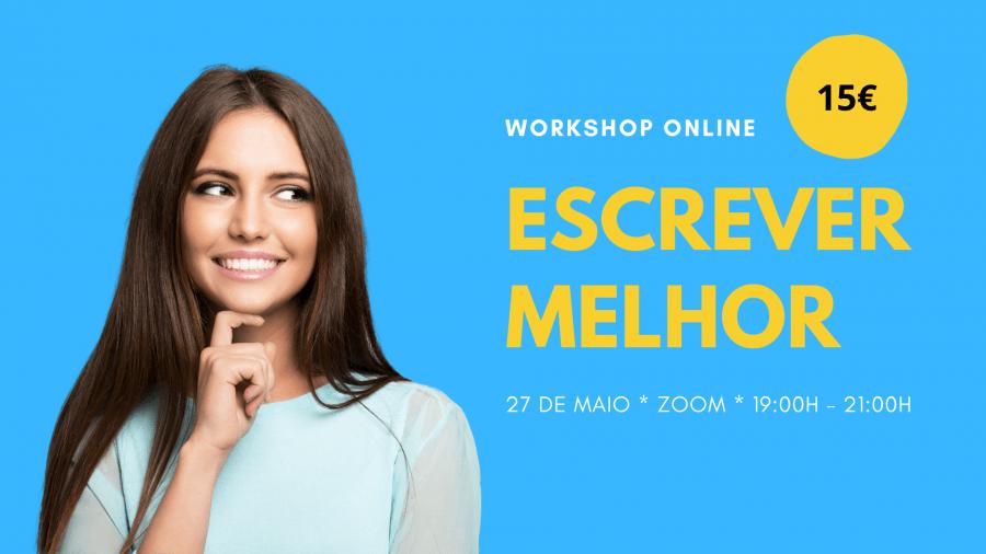 Workshop online 'Escrever melhor'