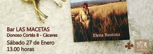 Presentación libro: CRIATURAS SALVAJES de Elena Bautista
