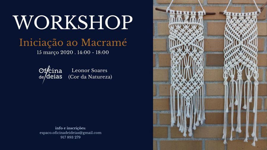 Workshop 'Iniciação ao Macramé'