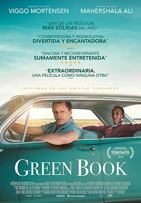 Proyección GREEN BOOK (Peter Farrelly, EEUU) || VOSE