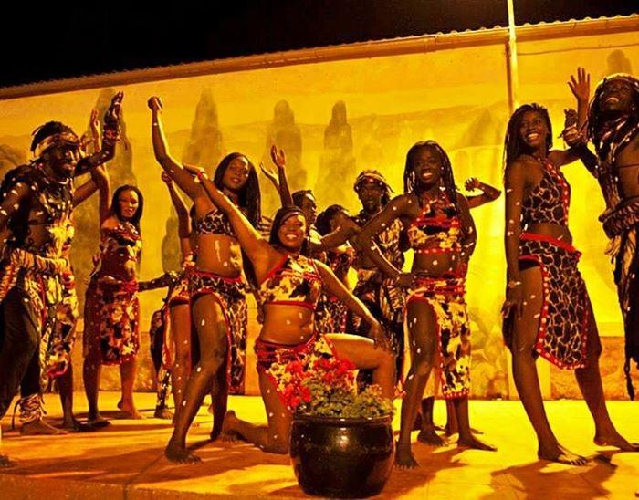 Espectáculo de danza senegalesa en Berlanga