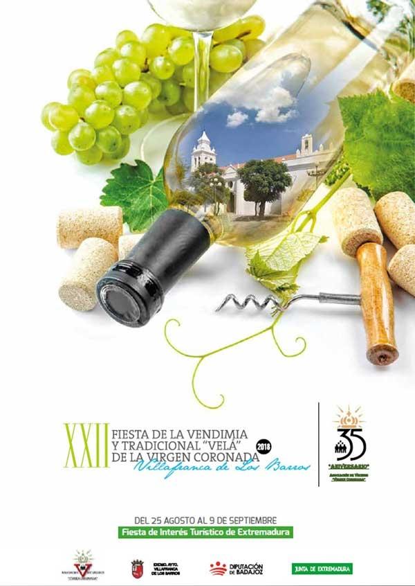 XXII Fiesta de la Vendimia en Villafranca de los Barros