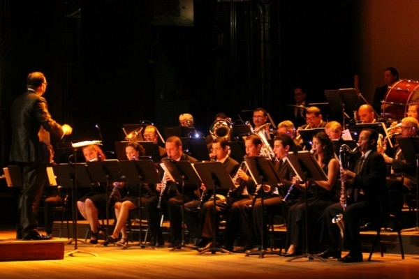 Música en el museo. Banda de Conciertos de Alajuela