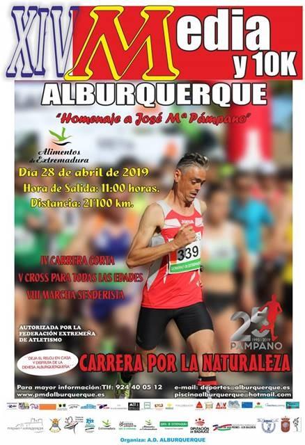 XIV MEDIA DE ALBURQUERQUE