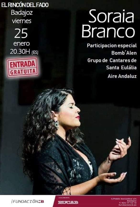 Concierto de Soraia Branco | Fundación CB