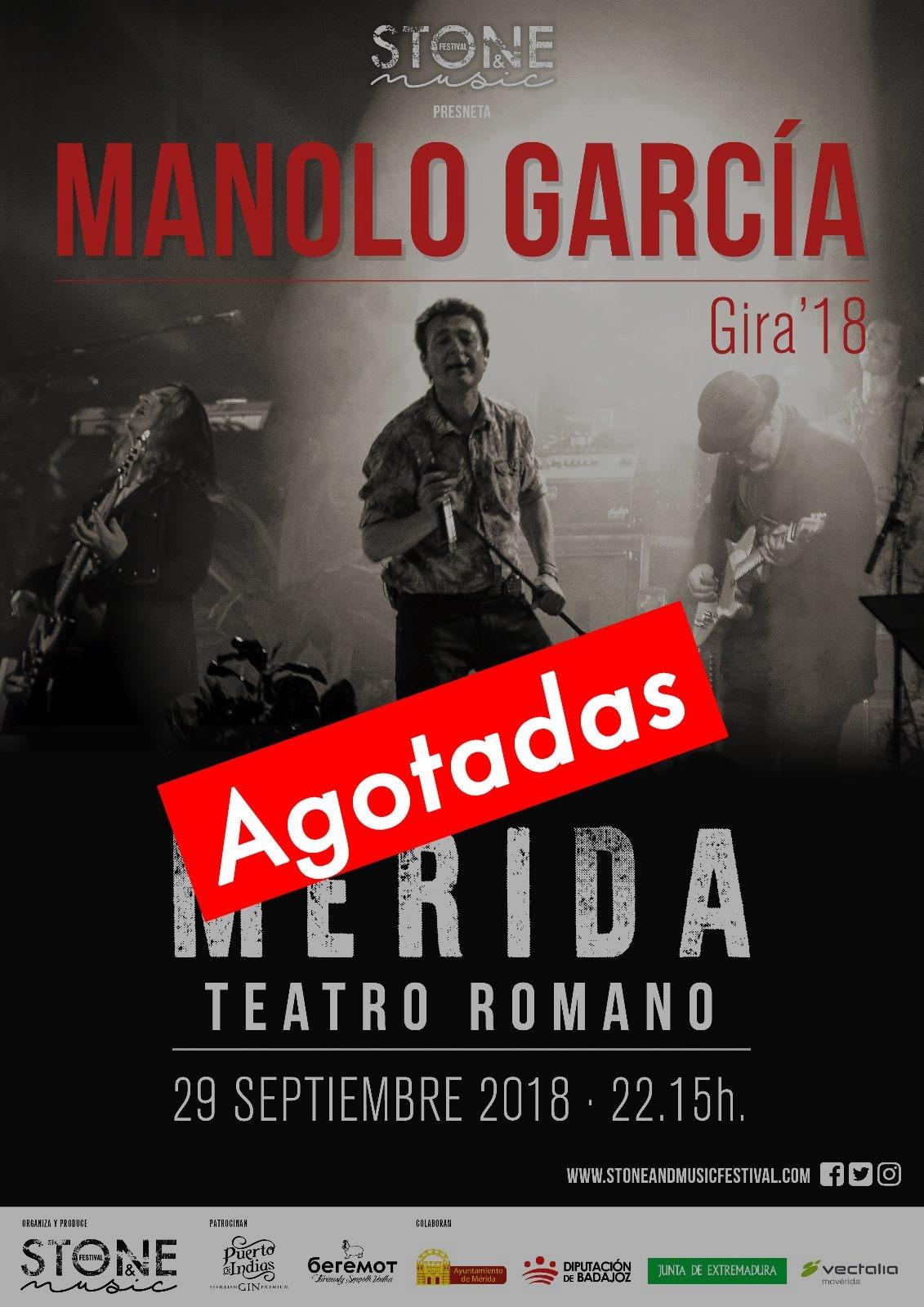 Manolo García 29.09 Stone & Music Festival