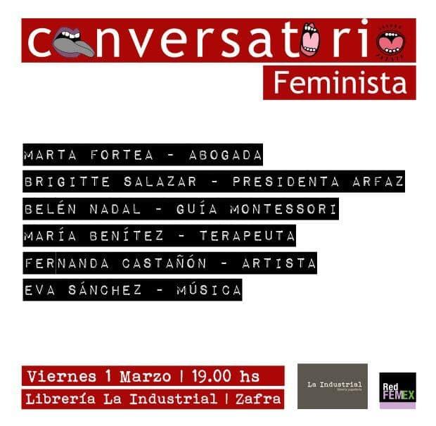 Conversatorio Feminista // LA INDUSTRIAL