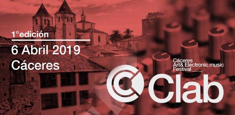 CLAB 2019 | Cáceres Art & Electronic Music Festival