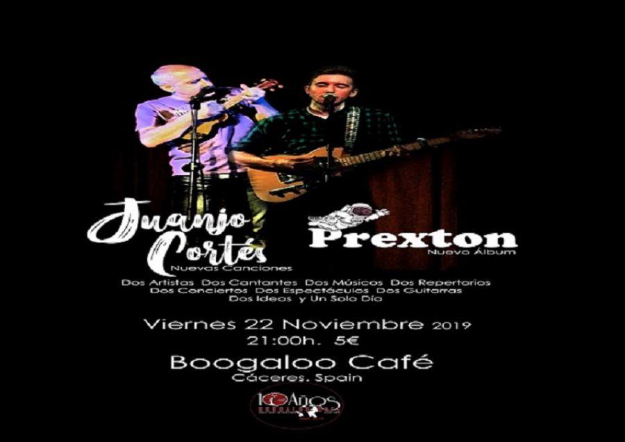 Juanjo Cortés + Prexton en Boogaloo Café