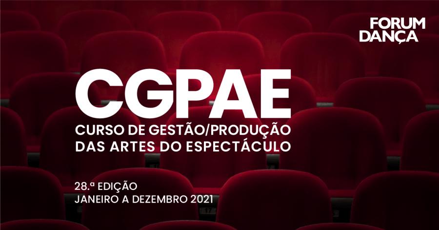28.ª Edição CGPAE \ Candidaturas Abertas até 10 Janeiro 2021