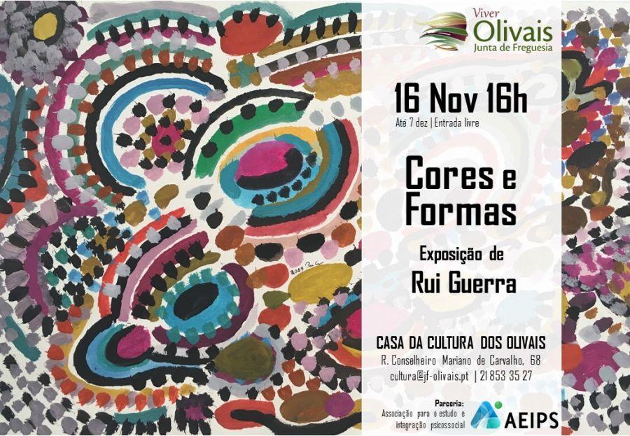 Exposição 'Cores e formas'  de Rui Guerra