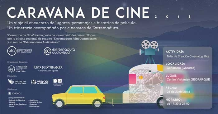 Taller de Creación Cinematográfica en Cañamero // Caravana de Cine