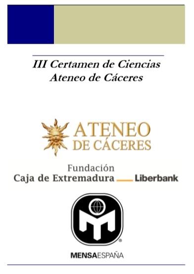 III CERTAMEN DE CIENCIAS