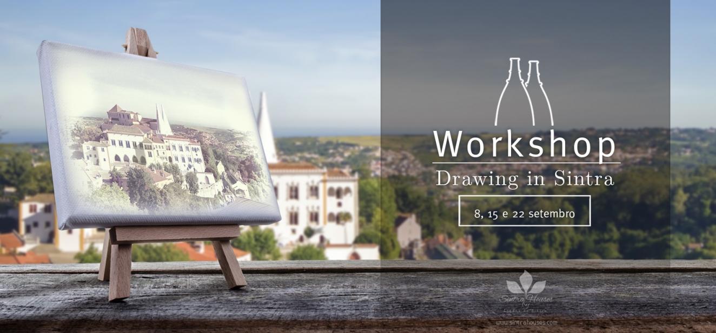 Workshop de desenho 'Desenhar em Sintra'