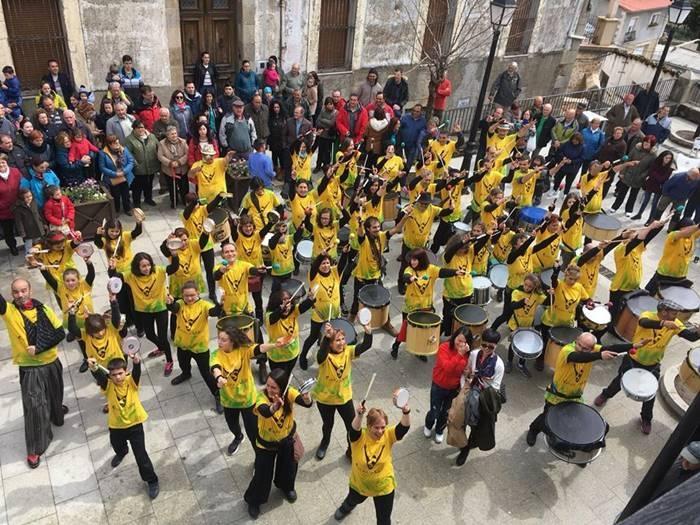 Festival ANIMAJERTE || Batukada a cargo de Santuka del Valle