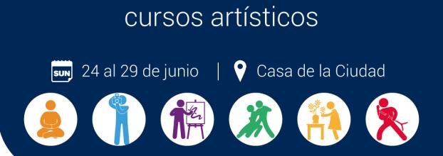 Matrícula de cursos artísticos 2-2019. Teatro, danza, yoga, pintura, dibujo, canto