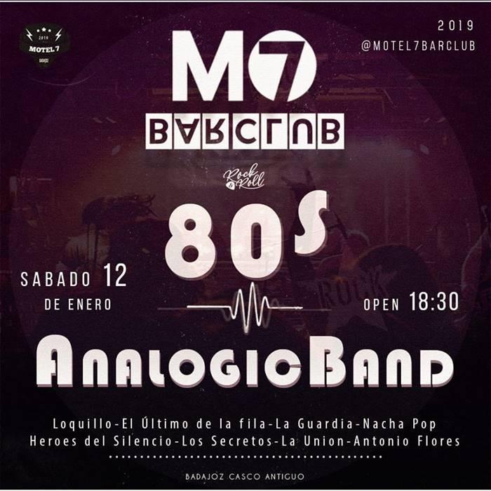 Concierto Analogic Band | Motel 7 Bar Club