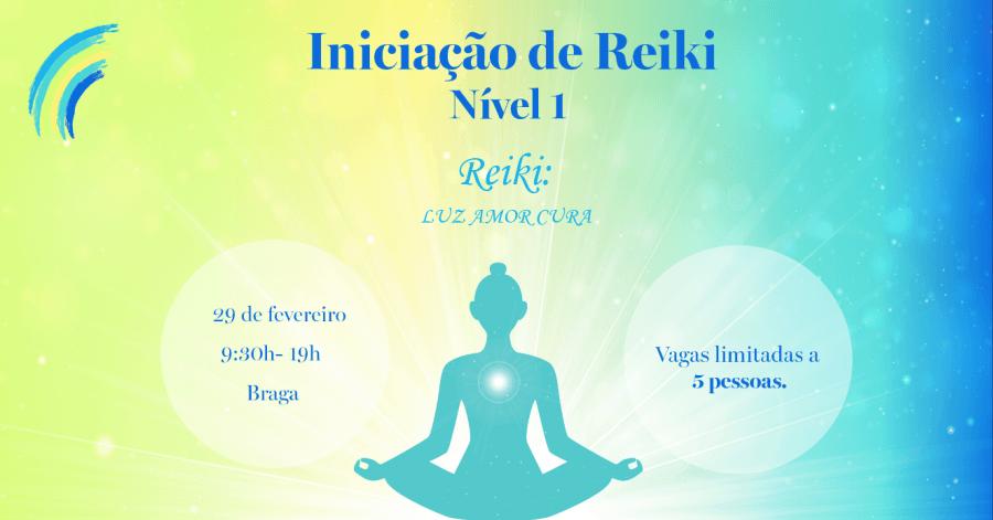 Iniciação Reiki - Nível 1