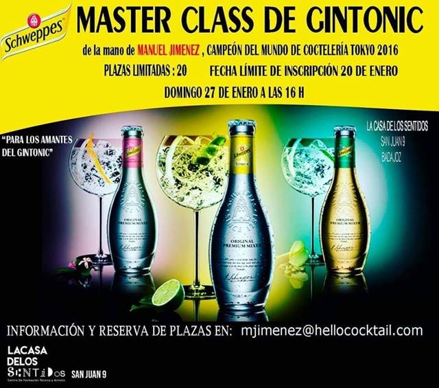 MASTER CLASS DE GINTONIC