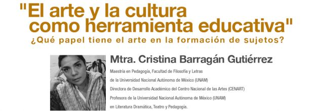 Conversatorio con la Mtra. Cristina Barragán
