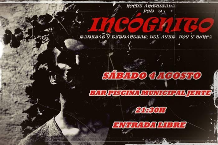 Amenizaje con 'Incógnito' || Bar Piscina Municipal de Jerte