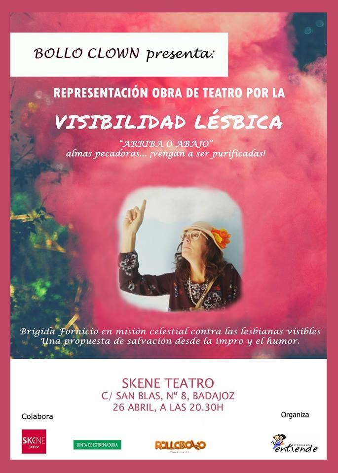 Obra de teatro por la visibilidad lésbica: 'ARRIBA O ABAJO'