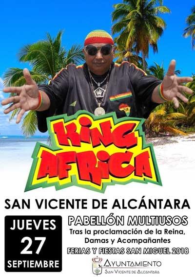 KING ÁFRICA EN CONCIERTO // Feria de San Miguel 2018