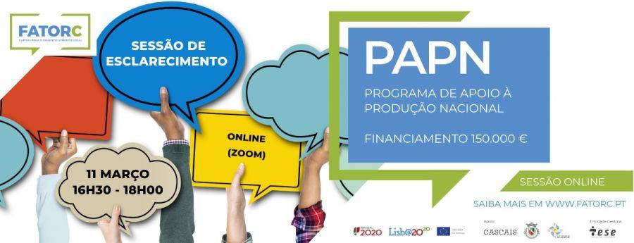 Sessão Esclarecimento | PAPN | FatorC