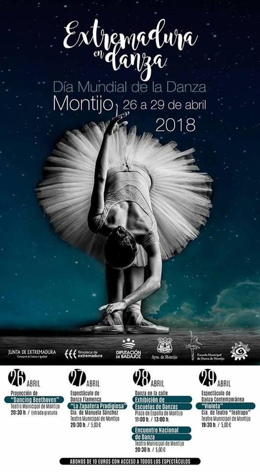 Día Mundial de la Danza // MONTIJO 26 - 29 ABRIL