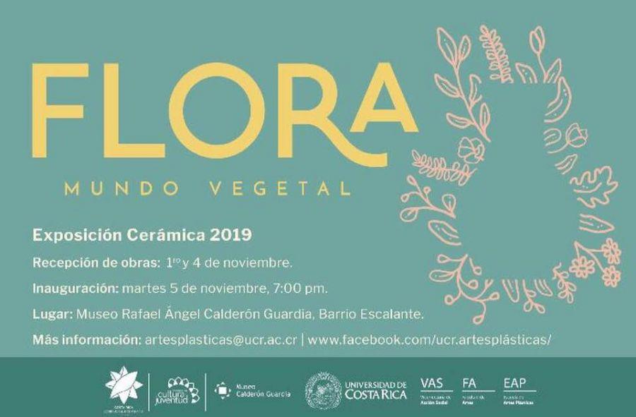 Flora, mundo vegetal. Colectiva. Cerámica