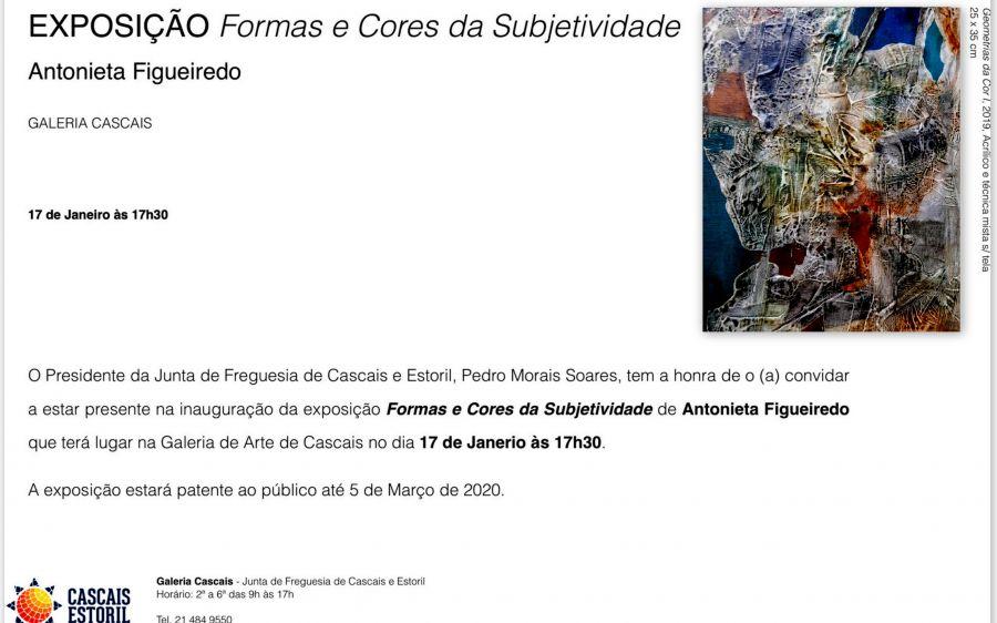 'Formas e Cores da Subjectividade'