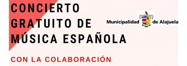 Concierto. Banda de Conciertos de Alajuela. Música española