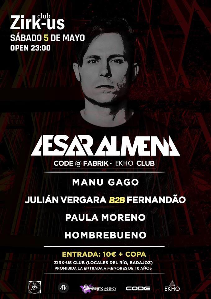 Cesar Almena (Zirk-us / All-on music)