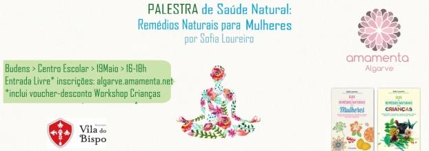 Palestra - Remédios naturais para Mulheres - Budens